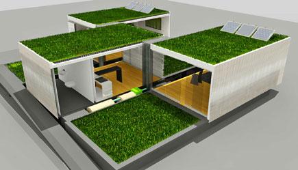 La casa del futuro una nueva relaci n con la ciudad - Proyectos para construir una casa ...