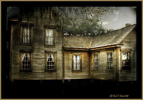 Casa Carlton, construida en 1885 en Hardee County, Florida.