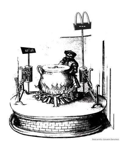 Cocinero a la antigua