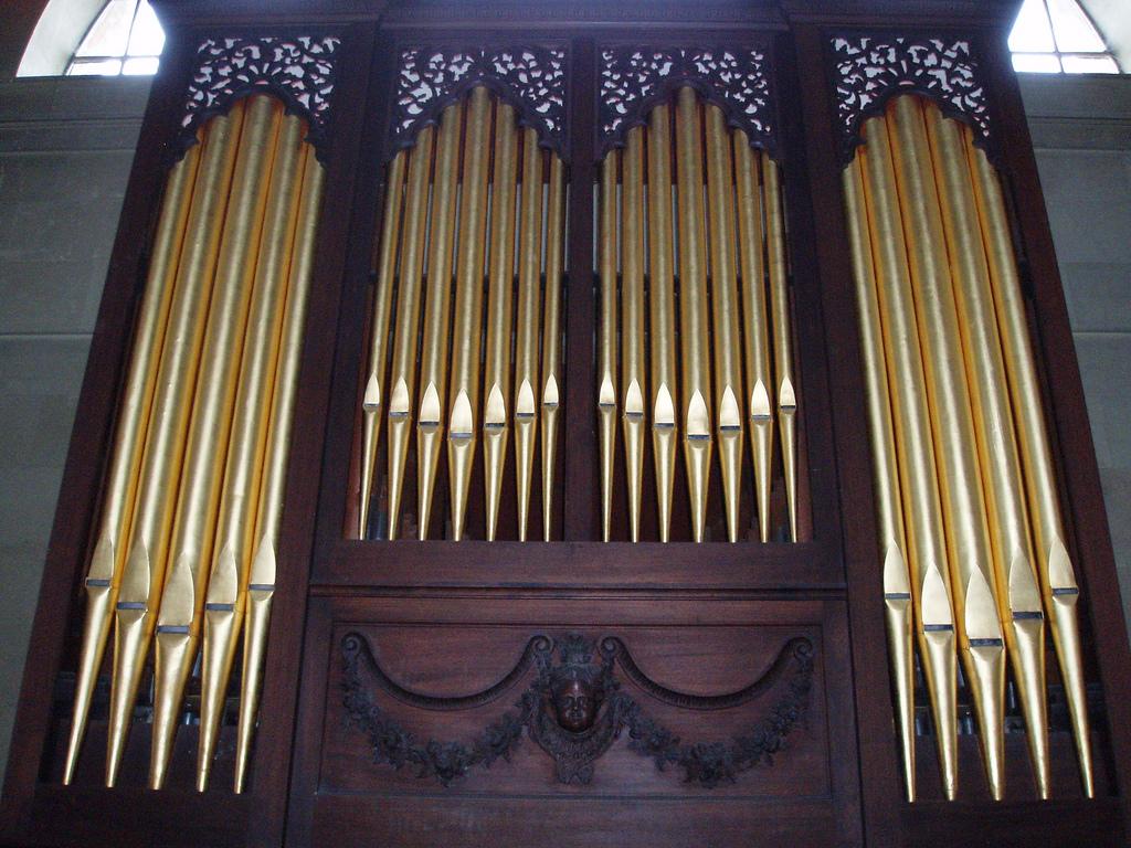 Órgano de St. James en Great Packington.