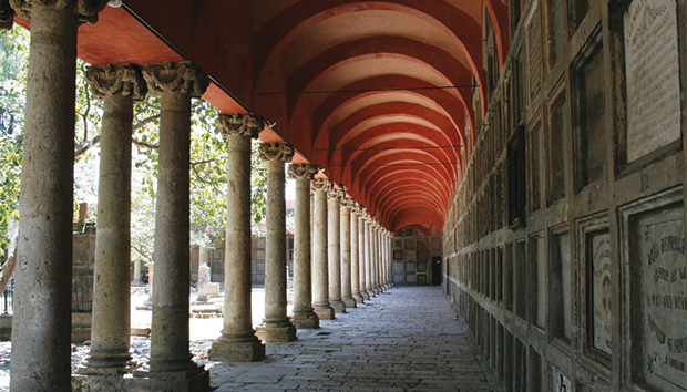 Aspecto del panteón de Belén, en Guadalajara. Foto: Flickr/gildardo