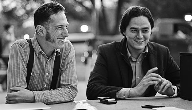 Alonso Espinosa y Bernardo Acosta se conocieron en la carrera de Ingeniería Electrónica
