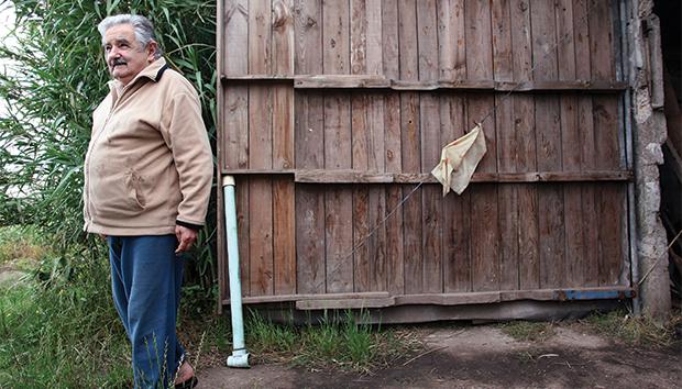 Mujica sigue viviendo en su antigua casa, ubicada en las afueras de Montevideo. Foto: AFP