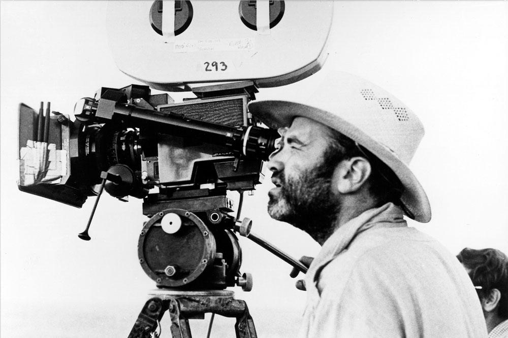 El director de cine Terrence Malick.