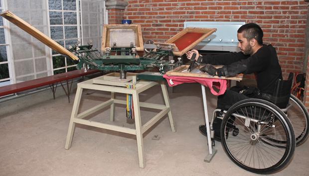 El objetivo de la asociación es dar herramientas para que sean autónomos. Fotos: Luz Vázquez