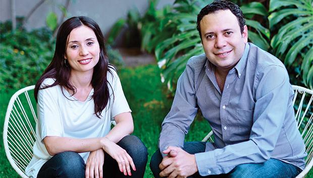 Magui y Salvador, fundadores del despacho Macías Peredo. Foto: Luis Ponciano