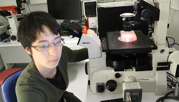 Julia Elisa colabora en diversas investigaciones de fármacos para esta enfermedad.