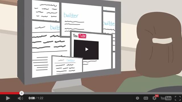 Imagen de un video donde se explica cómo funciona la plataforma Checkdesk.
