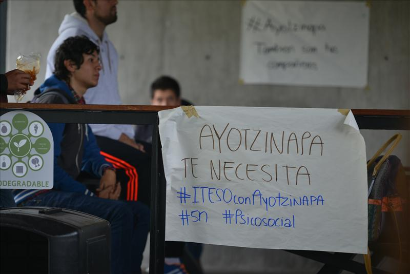 ITESO con Ayotzinapa