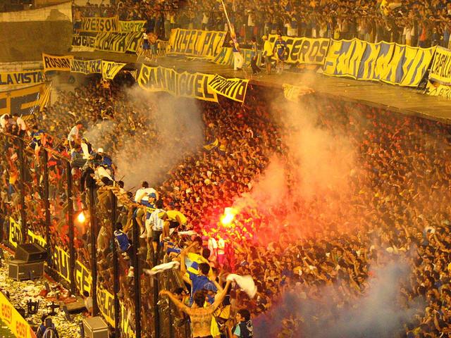 Los rituales definen la situación: un partido de futbol es donde muchos se pintan la cara y gritan eufóricos