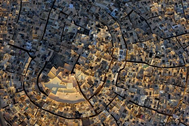 Las ciudades laberinto tenían por objetivo desorientar a los invasores. Foto: Travelers.es