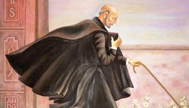 Ilustración de San Ignacio de Loyola