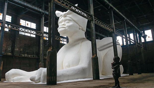 """""""Una sutileza"""", instalación de Kara Walker creada en 2014. Foto: Reuters"""