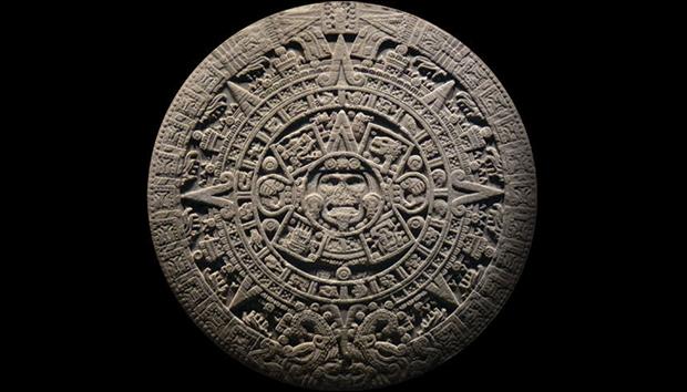 El calendario azteca pesa 25 toneladas y mide 3.6 metros de diámetro