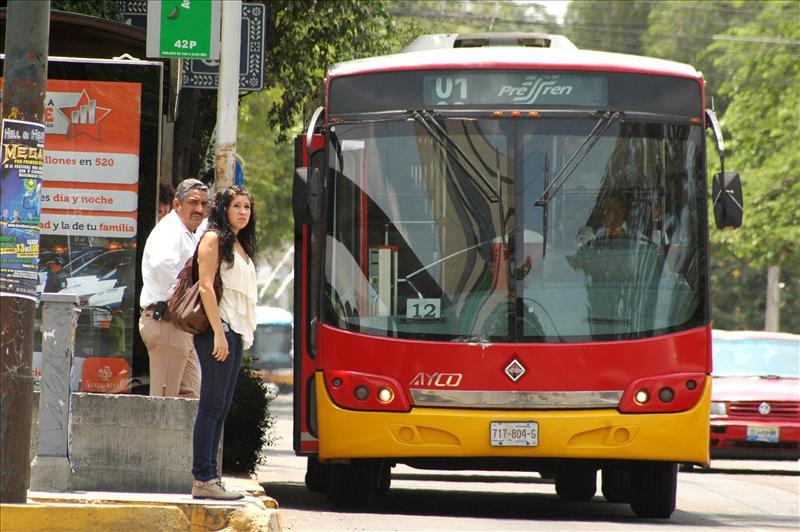 El camión es temido: el conductor puede desquitar los niveles de explotación. Foto: Luis Ponciano