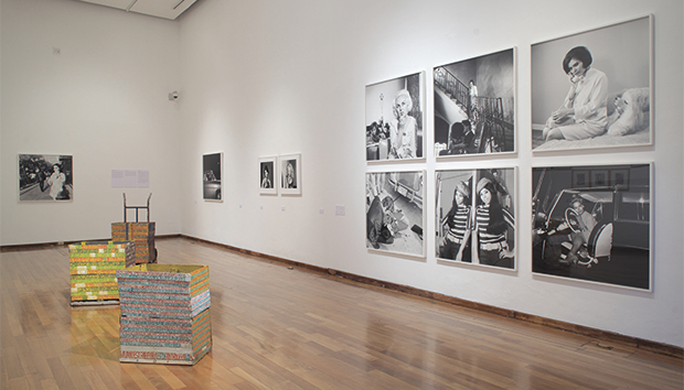 Fotos de la exposición «Las buenas intenciones: expresiones desde lo imprevisto», curada por Ashida