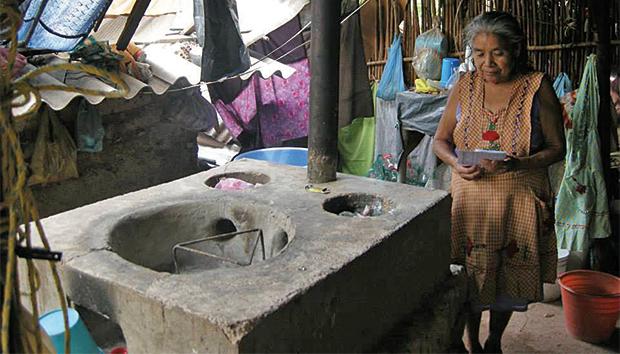 La estufa diseñada por InfraRural se puede construir en diferentes regiones del país. Fotos: InfraRural