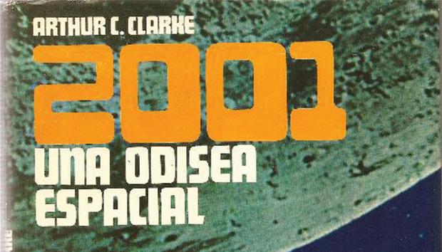 Portada de «2001: una odisea espacial», de Arthur C. Clarke