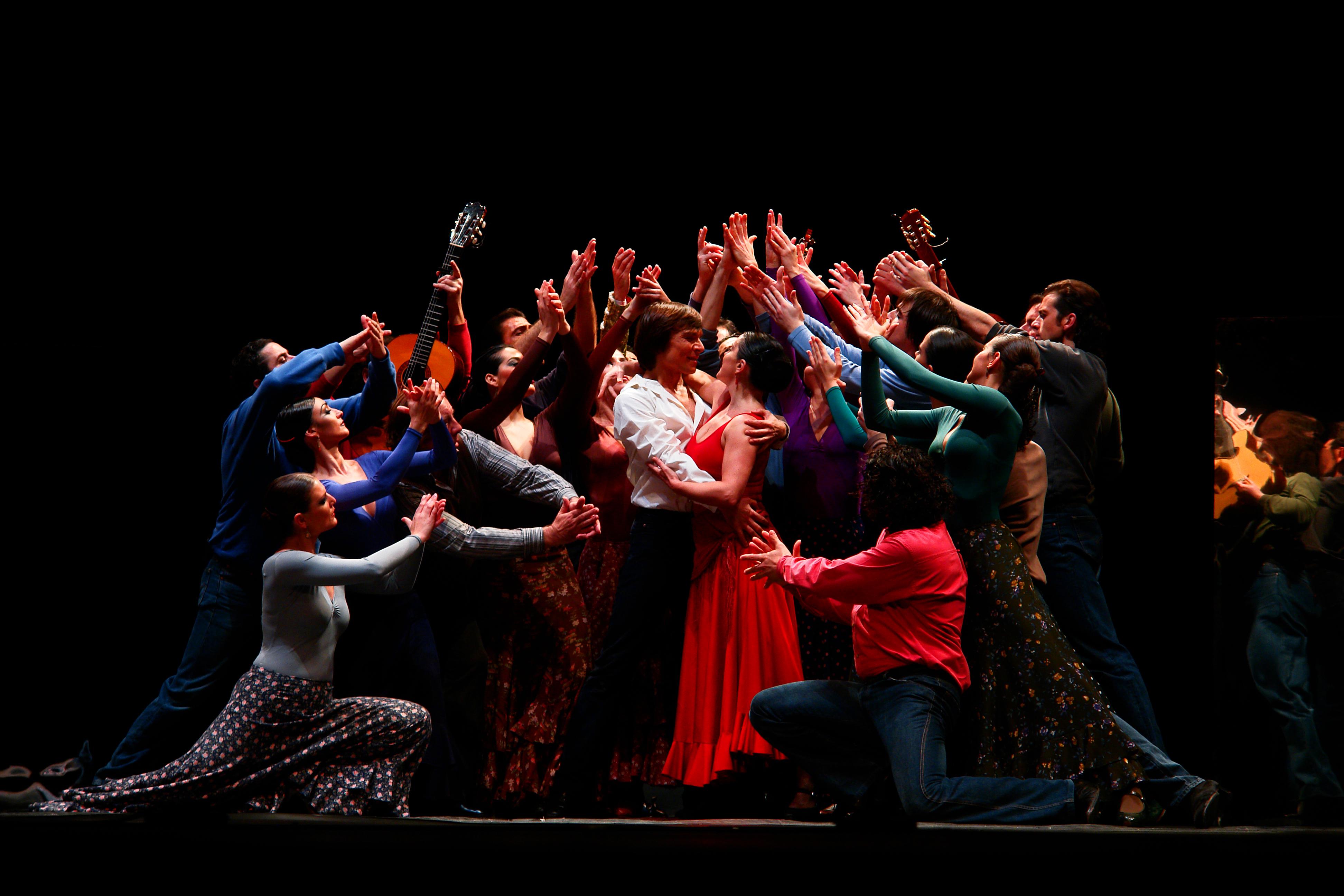 Imagen de un montaje de «Carmen», la ópera de Bizet