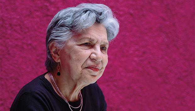 Silvia Torres-Peimbert es heredera del trabajo que han realizado muchas otras mujeres. Foto: Lalis Jiménez