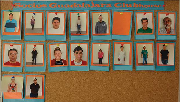Integrantes del Clubhouse Guadalajara. Fotos: Lalis Jiménez