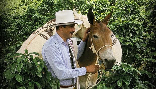 La marca es representada por un cafetalero colombiano. Foto: blog.juanvaldez.com