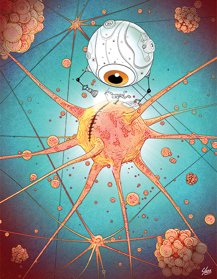 Ilustración de Yazz Casillas