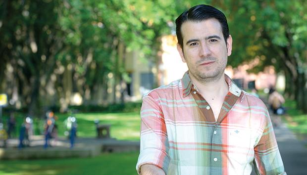 Caballero hará el doctorado en sistemas distribuidos en mobile mesh networks. Foto: Luis Ponciano