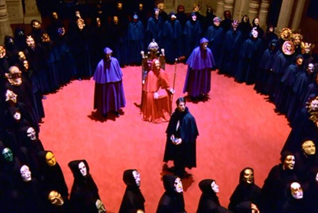 Imagen de la película «Eyes Wide Shut», de Stanley Kubrick