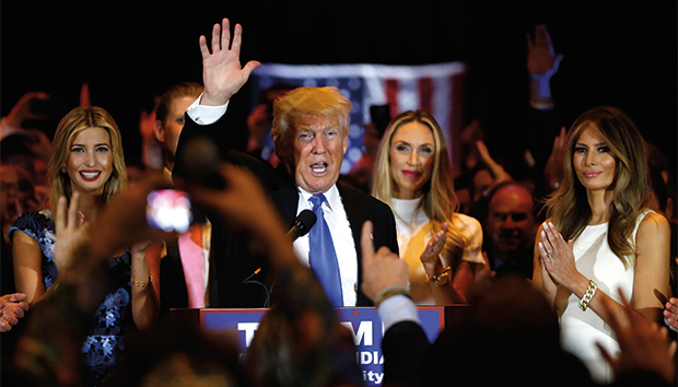 Donald Trump during his presidential campaign. Photo: Reuters