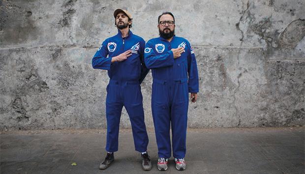 Arturo Hernández y Álex Marín y Kall. Foto: uol.com.br
