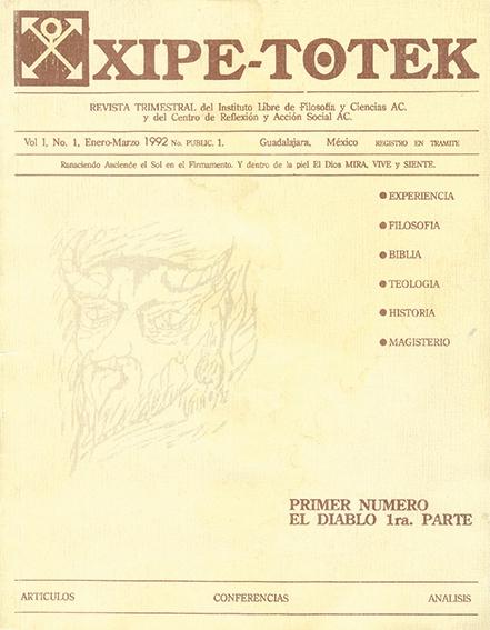 Imagen del primer número de la revista, dedicado al Diablo. Fotos: Archivo
