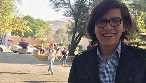 David Ricardo Flores estudia la carrera de Gestión Pública y Políticas Globales.