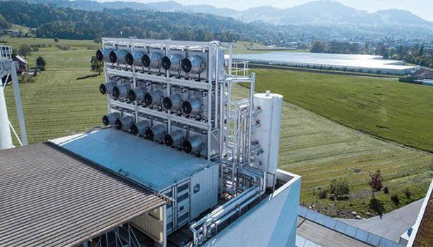 La apuesta es convertir el dióxido de carbono en materia prima. Foto: climeworks.com