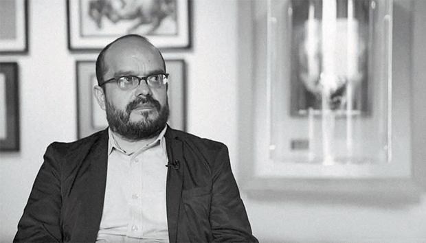 Javier Acosta en imagen tomada de la cuenta en YouTube de La Jornada Zacatecas