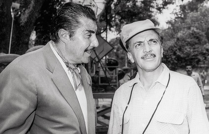 Emilio Fernández y Gabriel Figueroa. Foto: cinepremier.com.mx