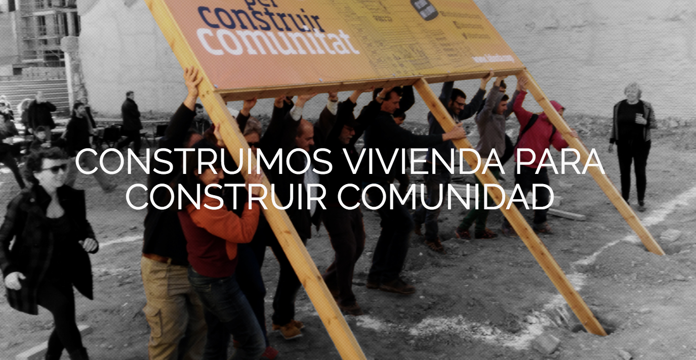 Imagen del sitio web de la cooperativa La Borda, en Barcelona.