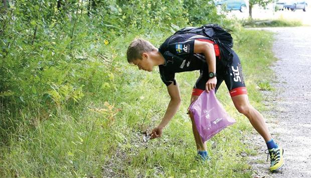 La iniciativa busca contribuir a la limpieza del entorno. Foto: Archivo