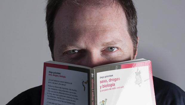 Diego Golombek es autor de media docena de libros. Foto: gradoceroprensa.wordpress.com