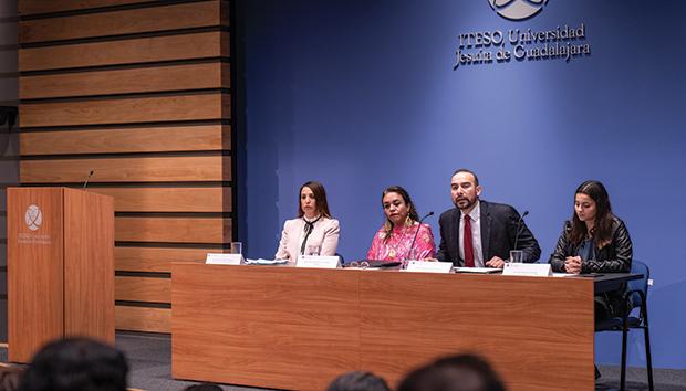 Imagen de la presentación del Protocolo en el ITESO. Foto: Luis Ponciano