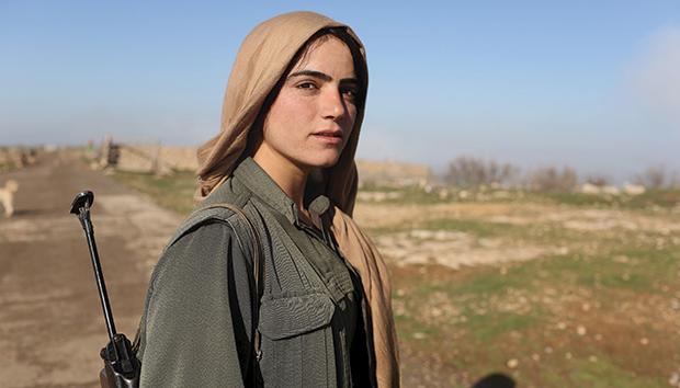 Las mujeres han sido muy importantes para el movimiento revolucionario. Foto: Reuters/Asmaa Waguih