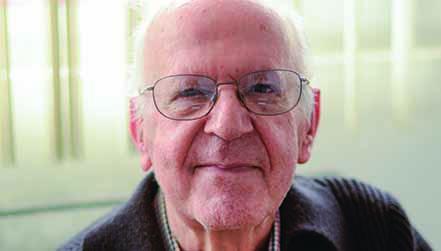 El padre Pepe realizó todo su trabajo pastoral en el ITESO. Foto: Cortesía