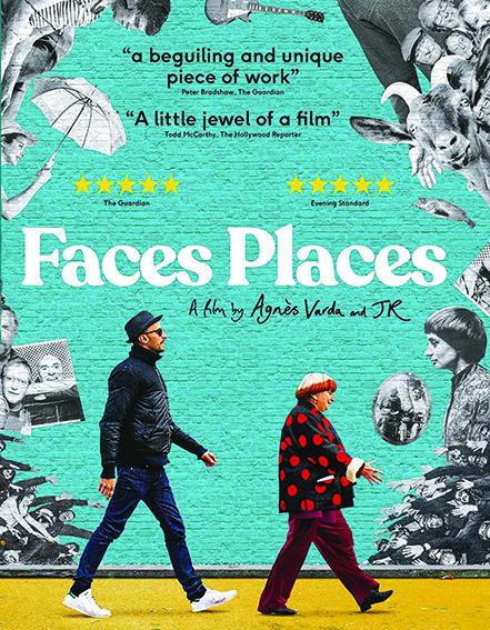 Cartel de la película «Faces Places», de Anges Vardá