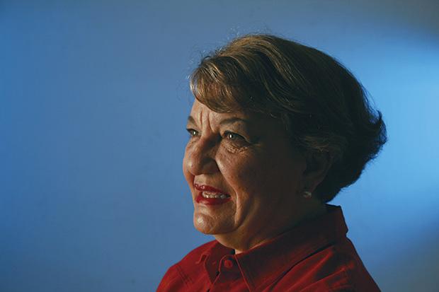 Retrato de Cristina Romo. Foto: Lalis Jiménez