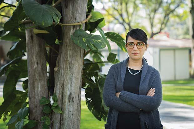 Adriana Pantoja es profesora del ITESO. Fotos: Luis Ponciano