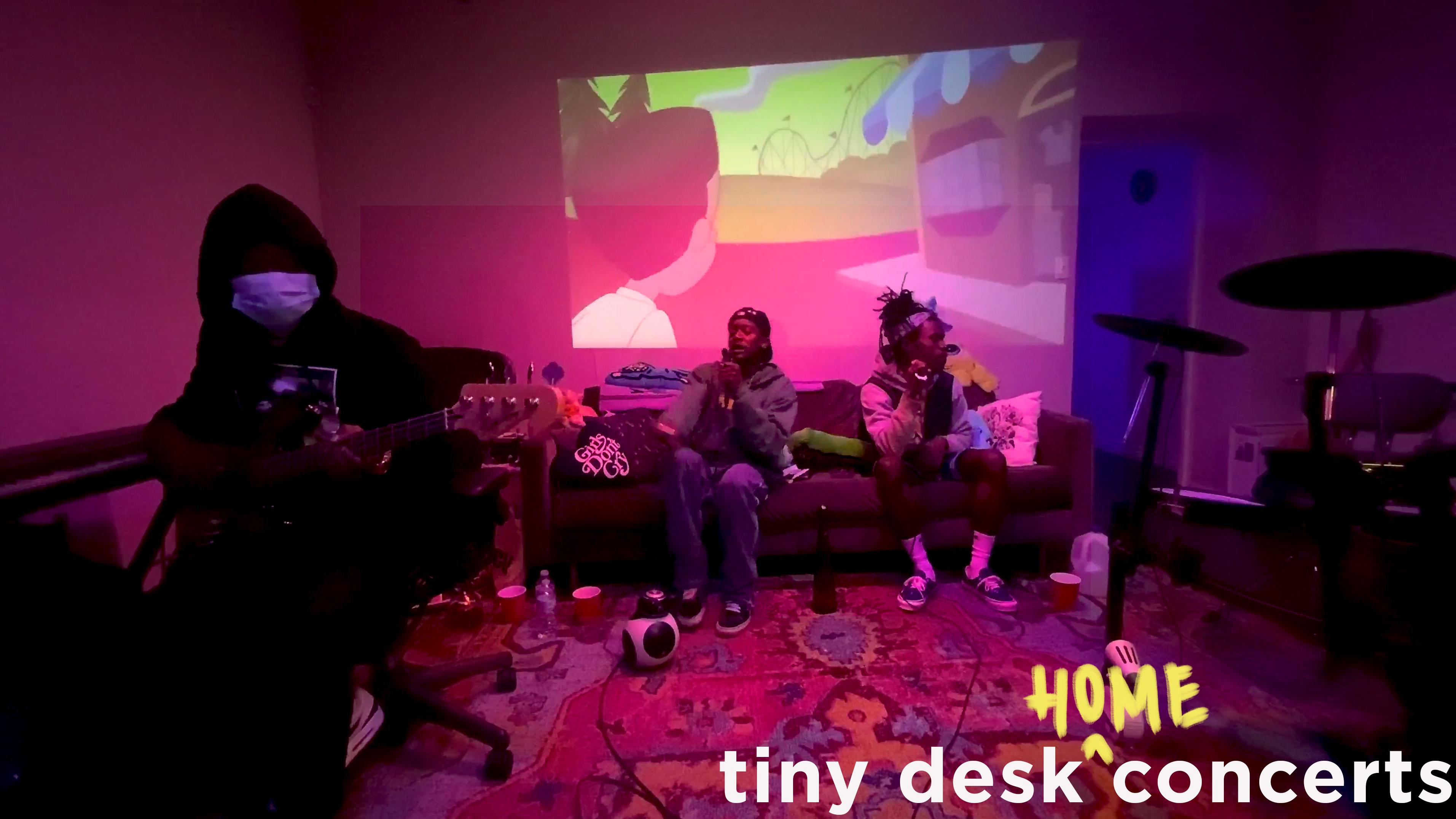 Participación de Buddy and Kentz Jamz en Tiny Desk (Home) Concerts