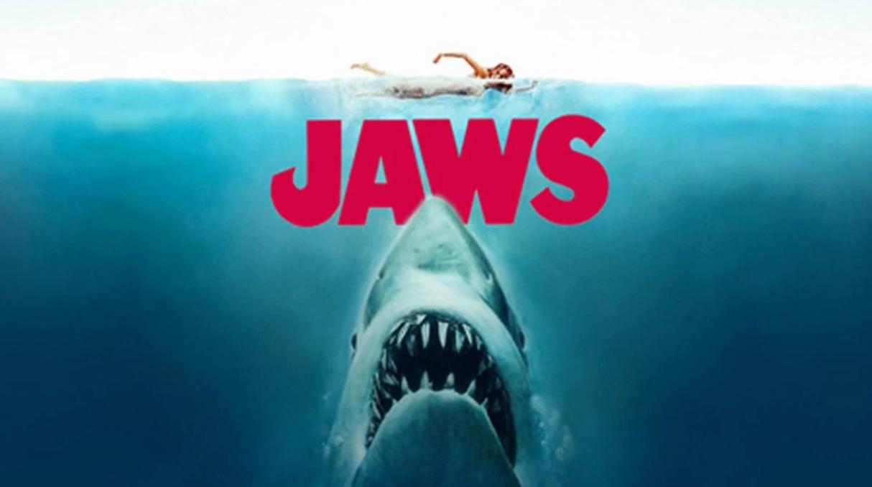 Imagen promocional de la cinta «Tiburón»
