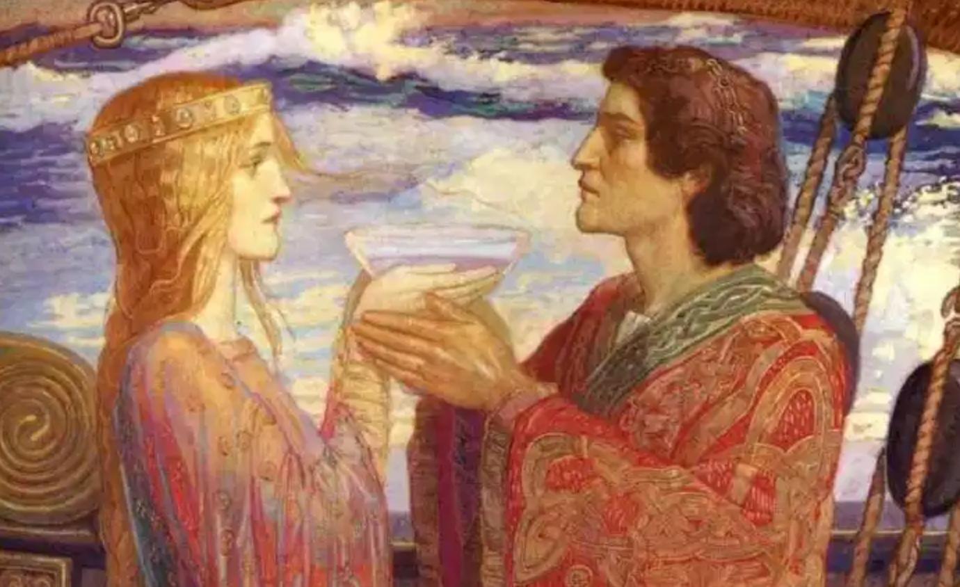 Representación de Tristán e Isolda